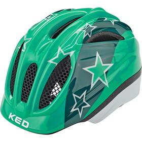 KED Meggy II Casco Bambino, verde/bianco